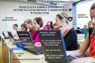 Policealna Szkoła Zawodowa- BEZ MATURY!!!
