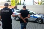 Podejrzewany o kradzież pieniędzy w rękach policji