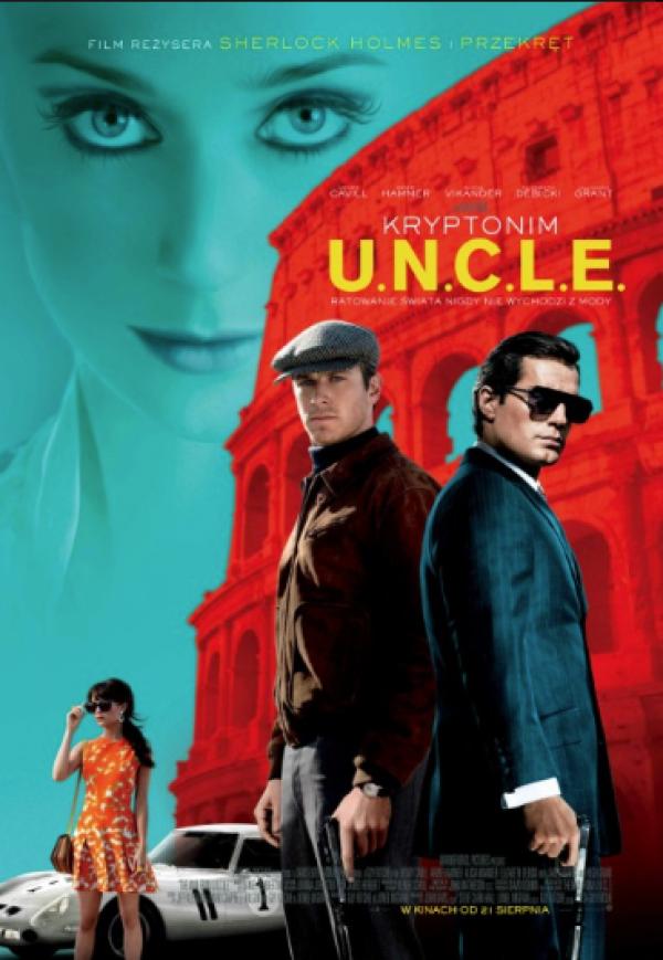 """""""Kryptonim U.N.C.L.E."""" w Piaseczyńskim Kinie Plenerowym"""