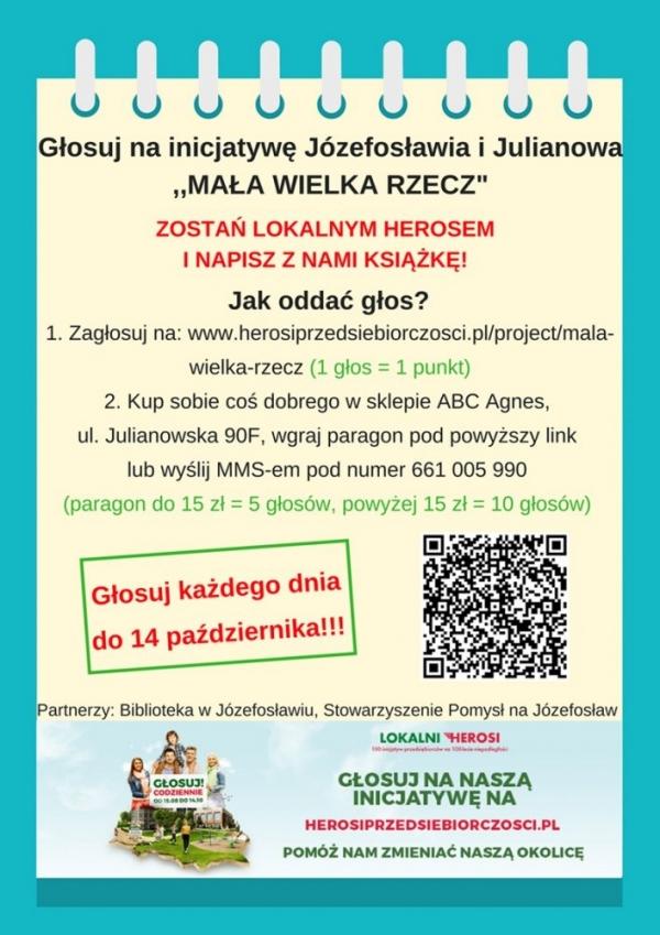 Mała Wielka Rzecz – inicjatywa Józefosławia i Julianowa