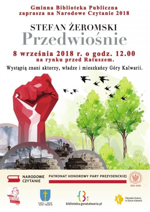Narodowe Czytanie 2018 w Górze Kalwarii