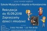 Rekrutacja do szkoły muzycznej w Konstancinie