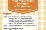 Spotkajmy się w nowej siedzibie biblioteki w Józefosławiu!