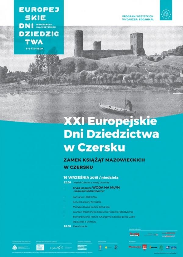 Europejskie dziedzictwo na zamku w Czersku