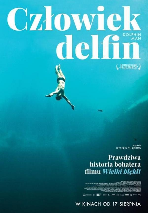 DKF Uciecha: Człowiek delfin + spotkanie z freediverem