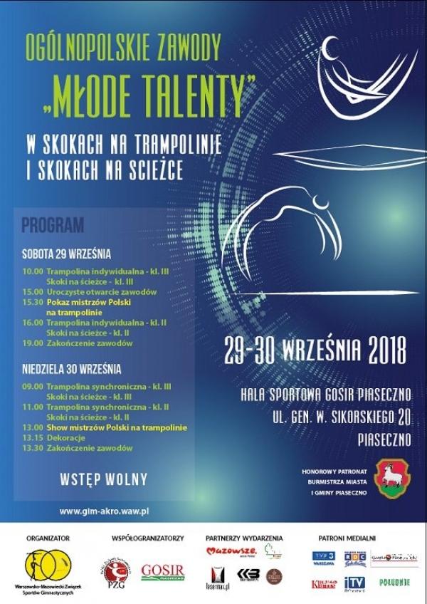 Zawody Młode Talenty w Piasecznie