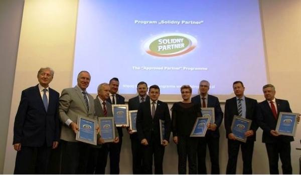 "Lesznowola z certyfikatem ""Solidny Partner"""