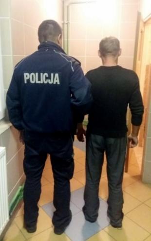 Dzielnicowi po pościgu zatrzymali sprawców włamania