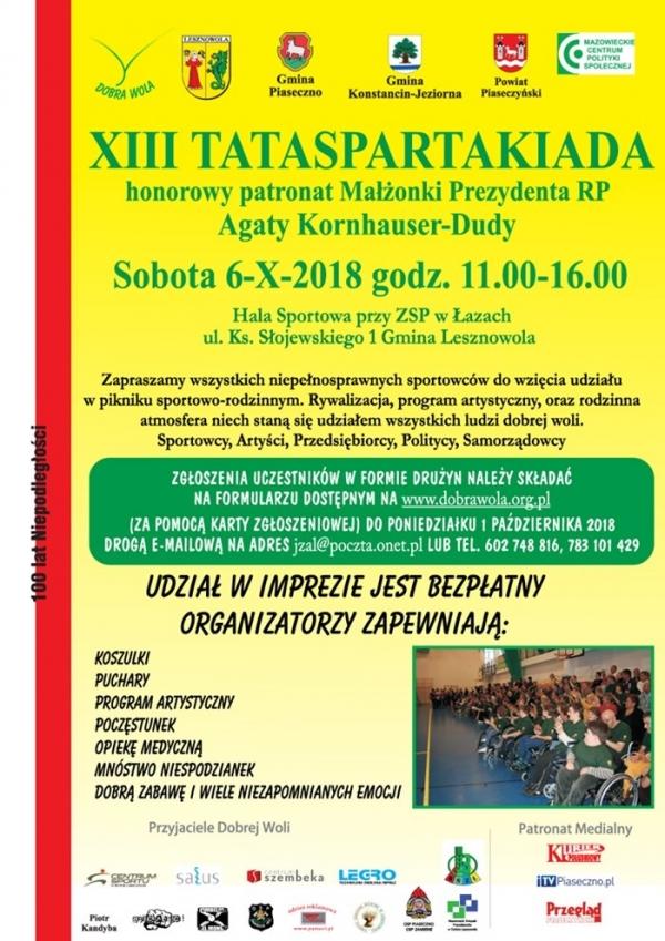 XIII Tataspartakiada