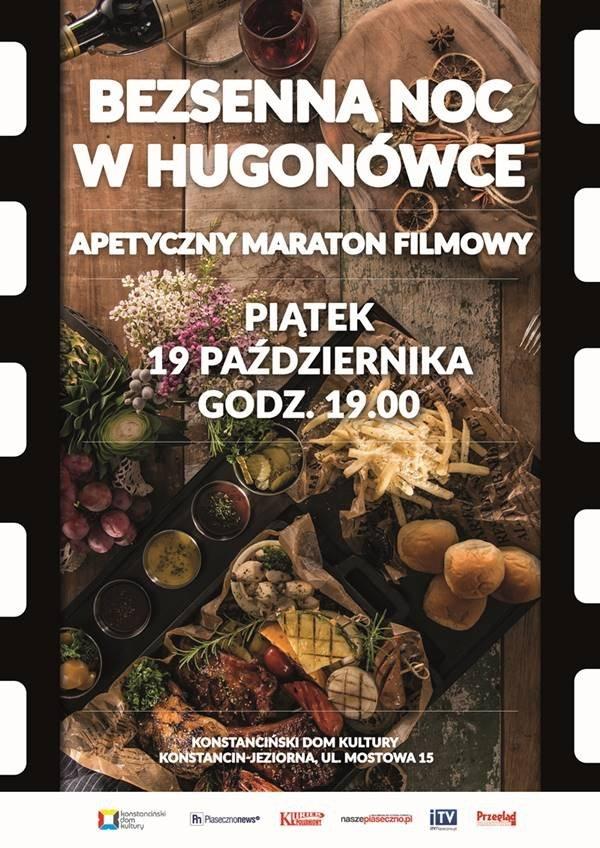Apetyczna filmowa noc w Hugonówce