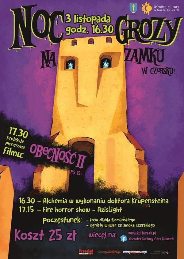 Noc grozy na zamku w Czersku