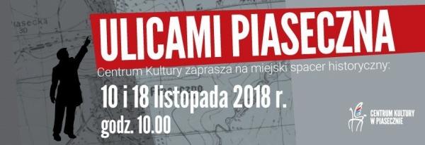 ULICAMI PIASECZNA - ulica Kościuszki - cmentarz parafialny