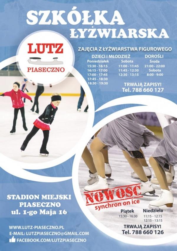 Szkółka łyżwiarska w Piasecznie