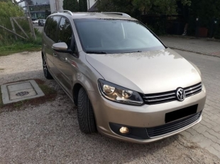 VW Touran 2013 2.0 TDI Automat-Wynajem Długoterminowy (również Uber)