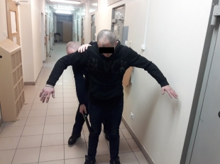 28- latek zatrzymany za kradzież podczas świątecznej kolacji
