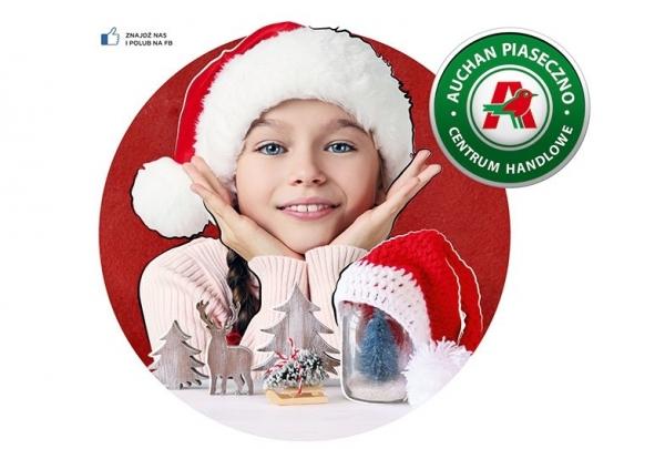 Święty Mikołaj zawita do Centrum Handlowego Auchan Piaseczno