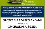 Spotkanie z mieszkańcami w sprawie odnawialnych źródeł energii w Gminie Prażmów