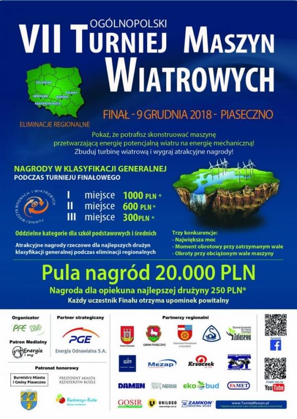 Finał VII Ogólnopolskiego Turnieju Maszyn Wiatrowych
