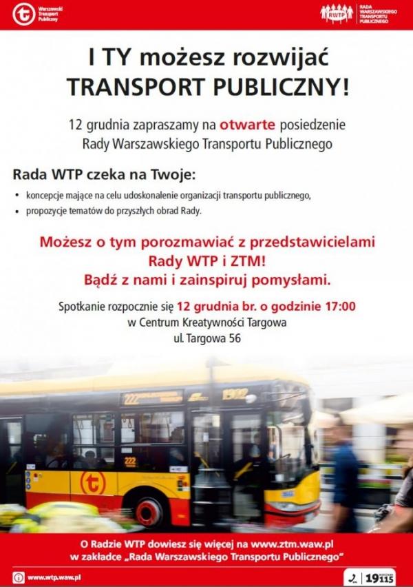 Otwarte spotkanie Rady WTP