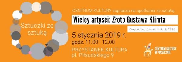 Sztuczki ze sztuką - Złoto Gustawa Klimta