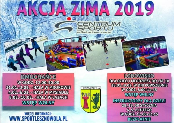 Akcja Zima 2019 w Lesznowoli