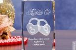 Dwa Serca 3D - oryginalny kryształ 3D na Walentynki