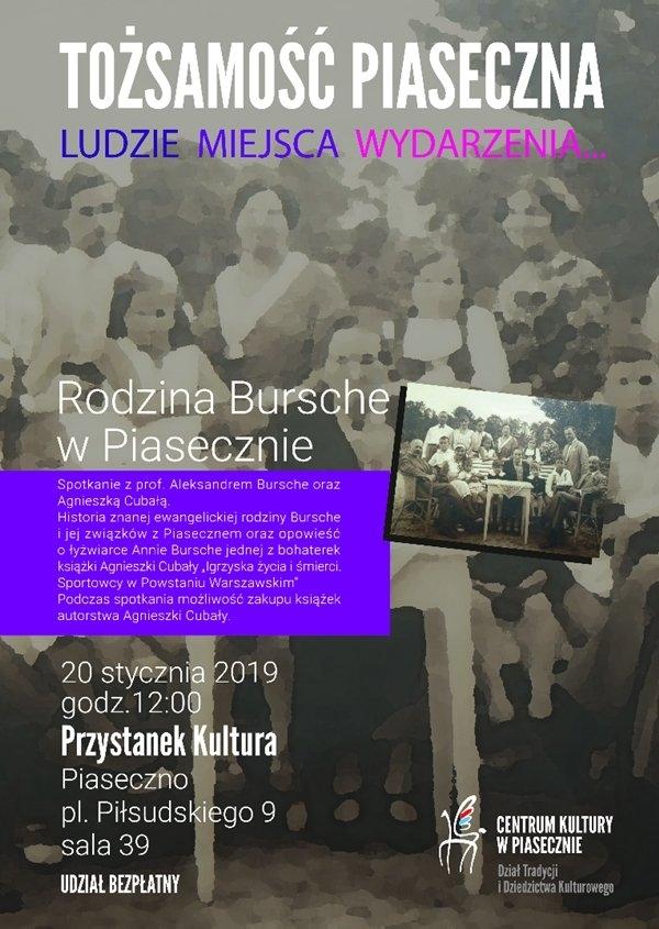 Rodzina Bursche w Piasecznie
