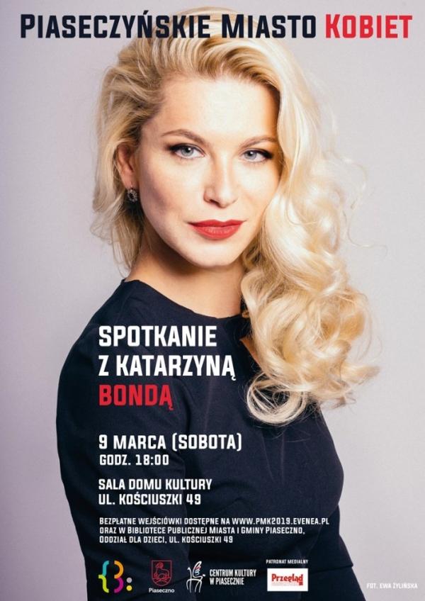 Piaseczyńskie Miasto Kobiet - Katarzyna Bonda