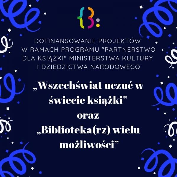 Dofinansowanie bibliotecznych projektów