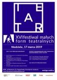 16. Festiwal Małych Form Teatralnych