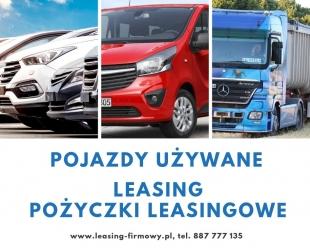 Leasing i pożyczki leasingowe - samochody używane, nowe, maszyny i urządzenia