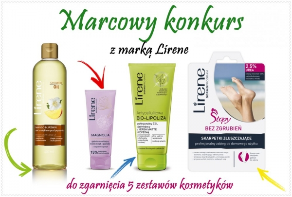 Marcowy konkurs z marką Lirene