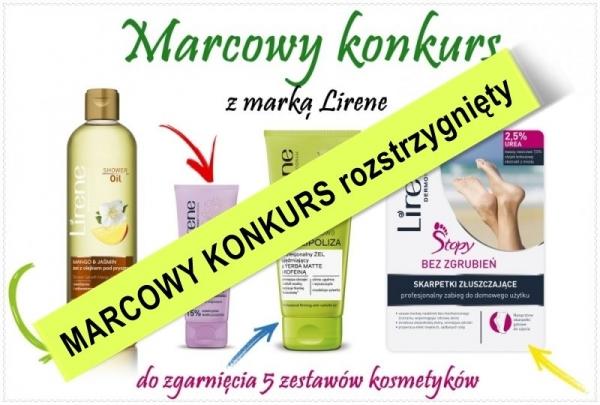 Marcowy konkurs z marką Lirene rozstrzygnięty