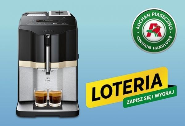 Markowy ekspres do kawy do wygrania w loterii!