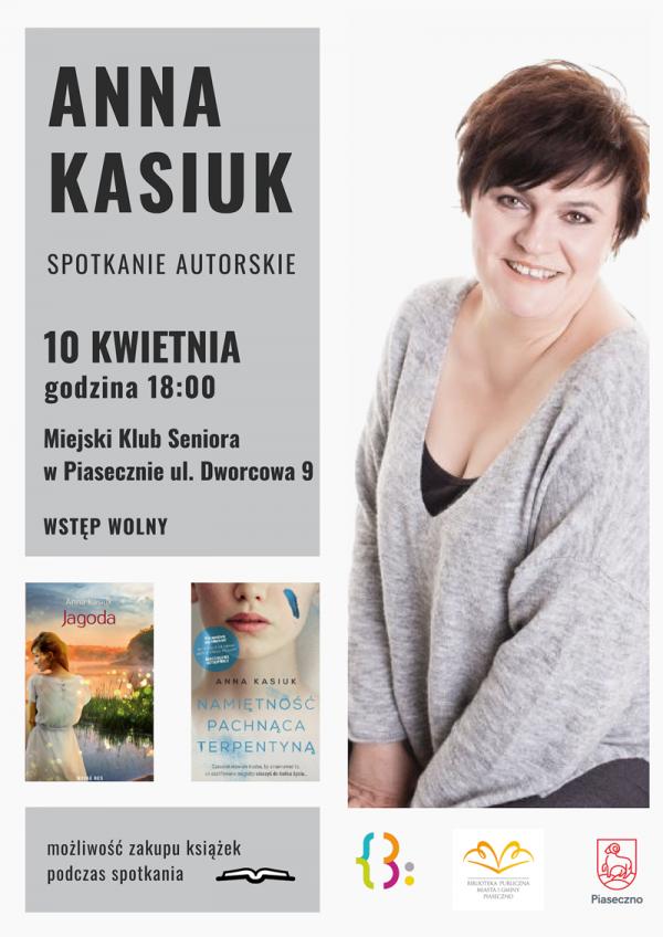 Spotkanie z Anną Kasiuk