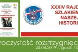 """Rozstrzygnięcie Rajdu """"Szlakiem Naszej Historii 2019"""""""