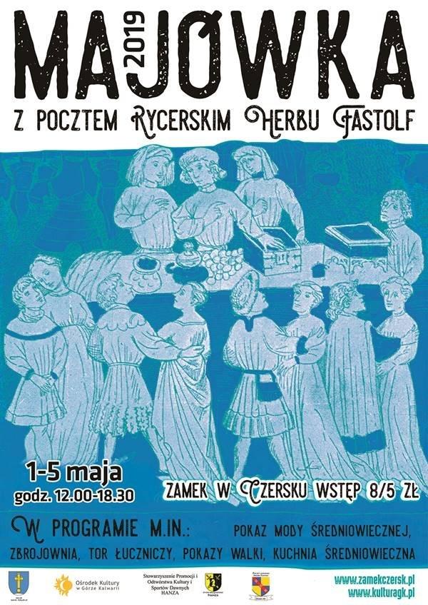 Majówka z Pocztem Rycerskim Herbu Fastolf