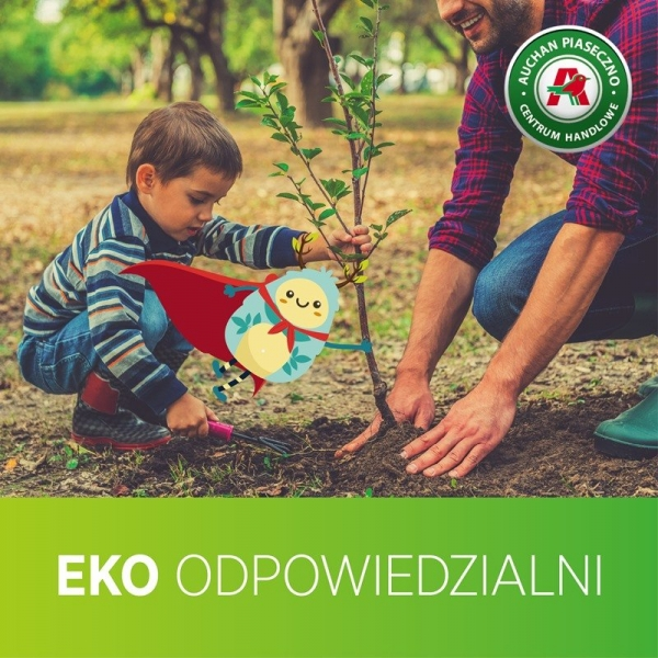Odbierz sadzonkę drzewa i weź udział w warsztatach ekologicznych