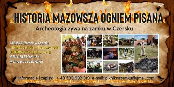 Historia Mazowsza Ogniem Pisana