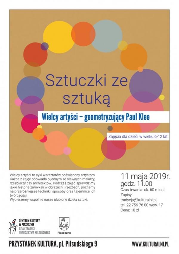 Sztuczki ze sztuką – Wielcy artyści: geometryzujący Paul Klee