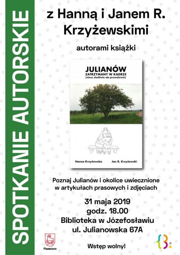 Spotkanie autorskie z Hanną i Janem R. Krzyżewskimi