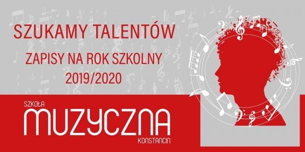 Rekrutacja do Szkoły Muzycznej I Stopnia w Konstancinie