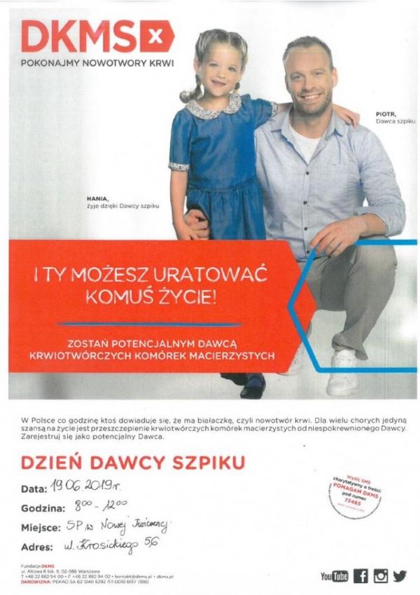 Dzień Dawcy w SP Nowa Iwiczna