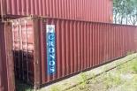 Kontener 40HC morski budowlany magazyn 100% szczelny