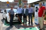 Stacja ładowania samochodów elektrycznych uruchomiona