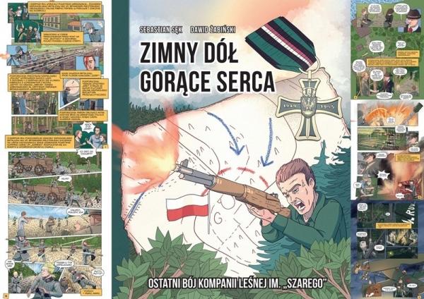 Promocja Komiksu: Zimny Dół – Gorące Serca