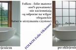 Folie matowe i dekoracyjne Piaseczno i okolice oklejanie szyb folią