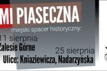 Ulicami Piaseczna spacer historyczny - Ulice Kniaziewicza i Nadarzyńska