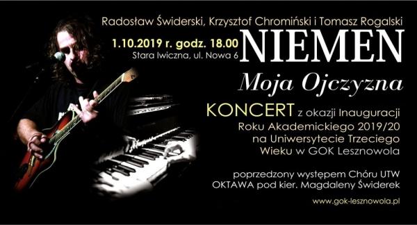 Niemen - Moja Ojczyzna - koncert