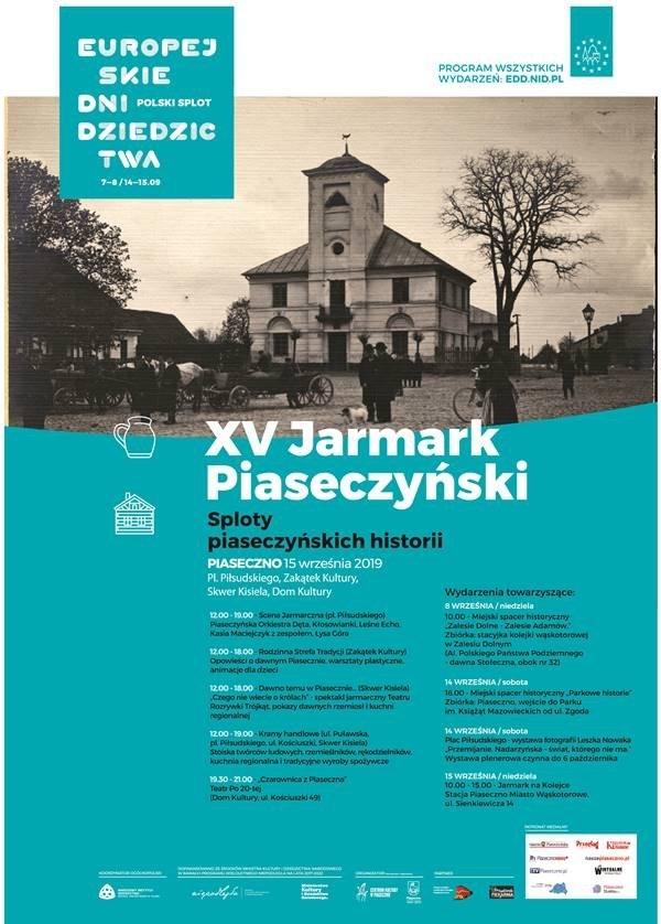 XV JARMARK PIASECZYŃSKI Sploty piaseczyńskich historii
